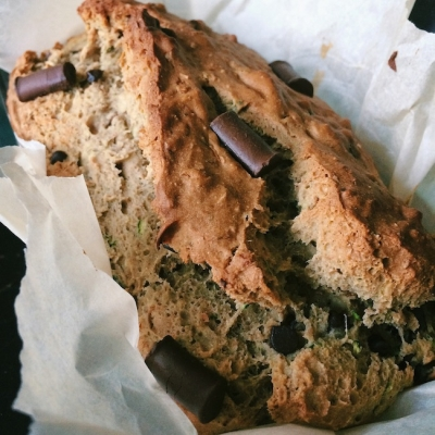 Chocolate Chunk Zucchini Bread