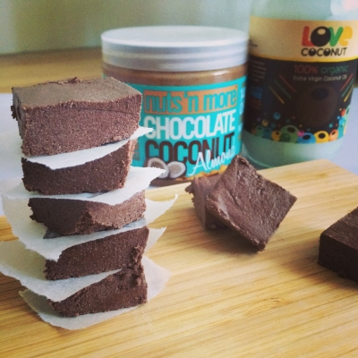 Chocolate Coconut Almond Protein Fudge