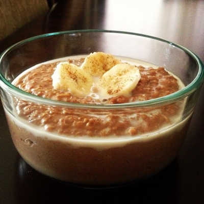 Chocolate Coffee Steelcut Oats
