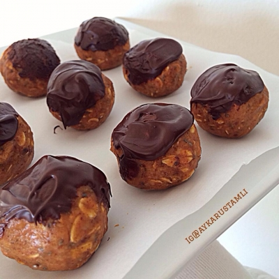 Chocolate Covered Pumpkin Balls