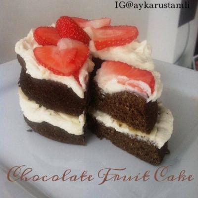 Chocolate Fruit Cake