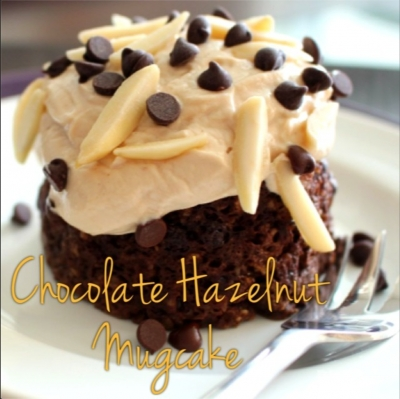 Chocolate Hazelnut Mug Cake