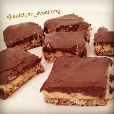 Chocolate Pb No Bake Cheesecake