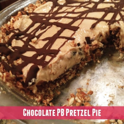 Chocolate Pb Pretzel Pie
