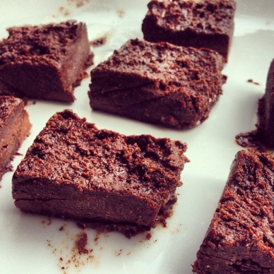 Chocolate Peanut Butter Protein Fudge!