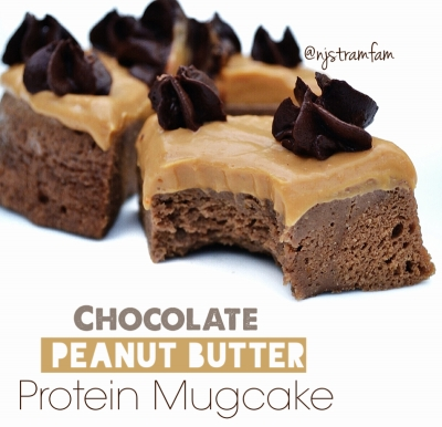 Chocolate Peanut Butter Protein Mugcake