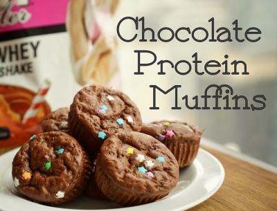 Chocolate Protein Muffins