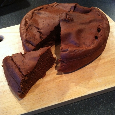 Chocolate Protein Packed Cake