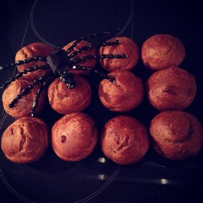 Chocolate Protein Zucchini Muffins