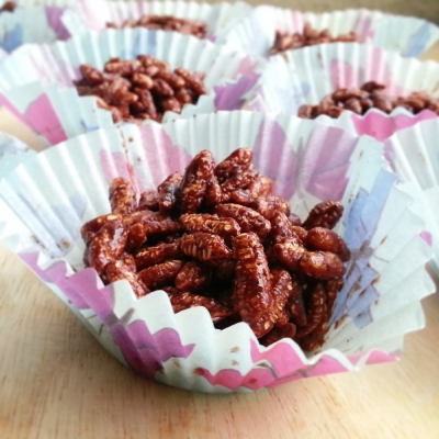 Chocolate Puffed Rice Treats