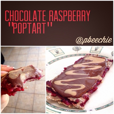 Chocolate Raspberry Poptart