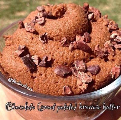 Chocolate (Sweet Potato) Brownie Batter