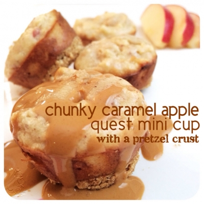 Chunky Caramel Apple Quest Mini Cup