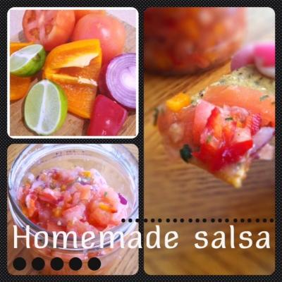 Chunky (No Cook) Salsa