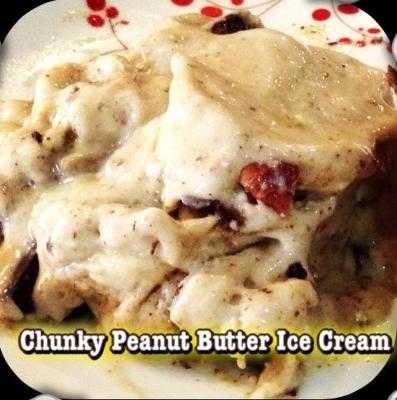 Chunky Peanut Butter Ice Cream