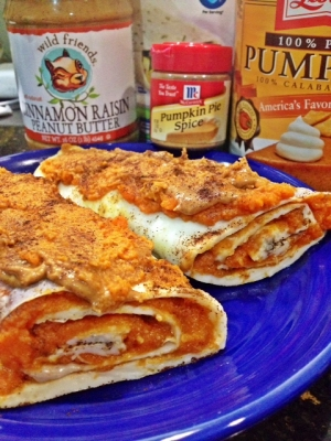 Cinnamon Raisin Pb Pumpkin Pie CrêPes