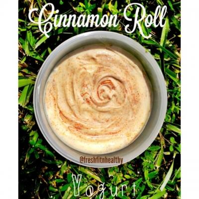 Cinnamon Roll Yogurt Dip