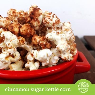 Cinnamon Sugar Kettle Corn