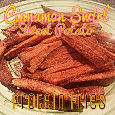 Cinnamon Swirl Sweet Potato Fries