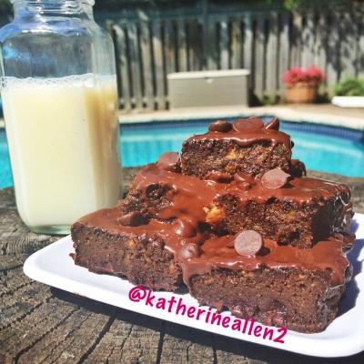 Clean Chocolate Brownies