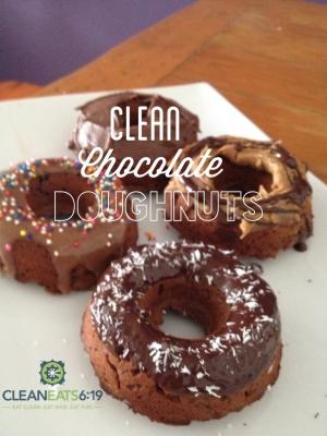 Clean Chocolate Doughnuts