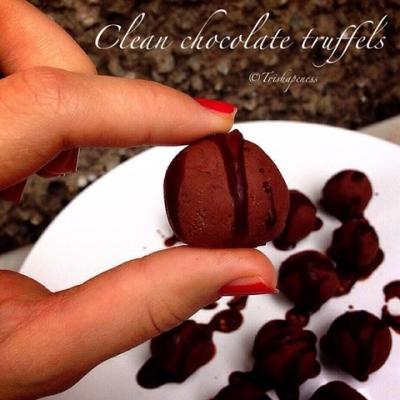 Clean Chocolate Truffels