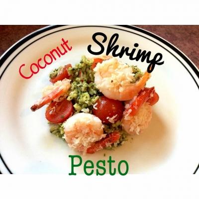 Clean Coconut Shrimp Pesto