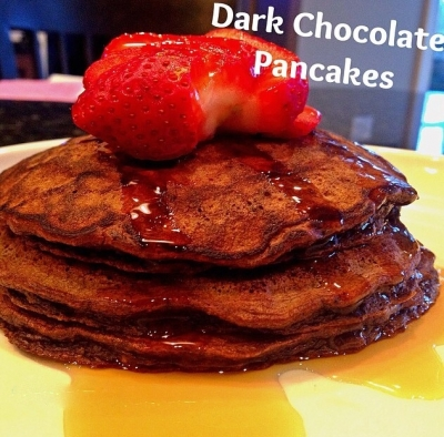 Clean Dark Chocolate Pancakes