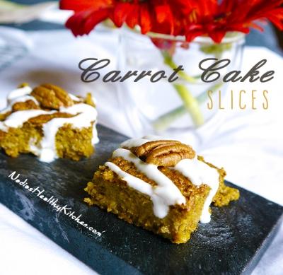 Clean Eating Carrot Cake