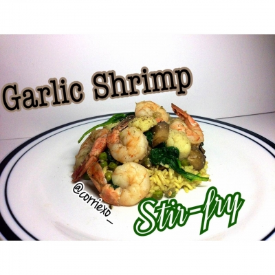 Clean Garlic Shrimp Stir-Fry