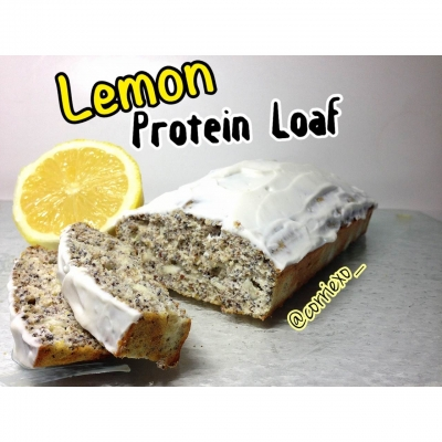 Clean Lemon Protein Loaf