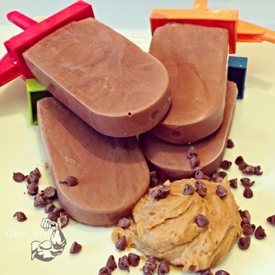 Clean Reese's Fudgesicles