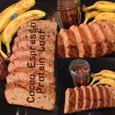 Cocao-Espresso Protein Loaf