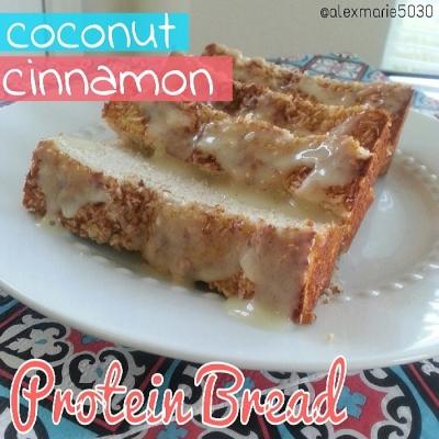 Coconut Cinnamon Protein Bread