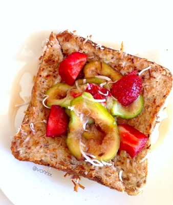Coconut-Encrusted French Toast