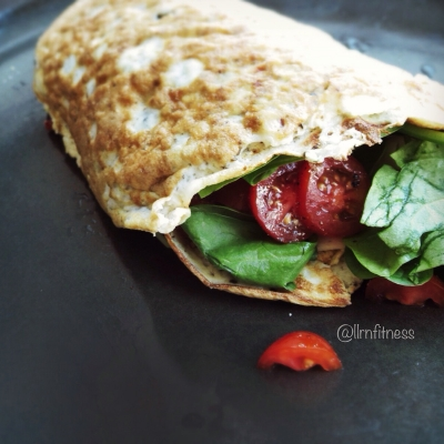 Coconut Flour-Egg Wrap
