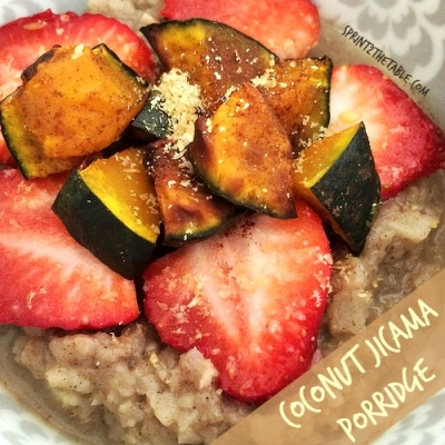 Coconut Jicama Porridge