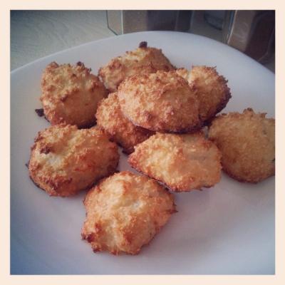 Coconut Meringue Cookies