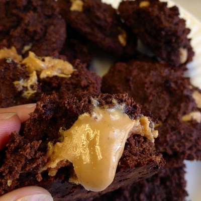 Coconut Peanut Butter Chocolate Protein Cookies