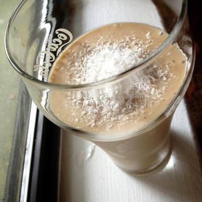 Coconut Peanut Butter Protein Frappuccino