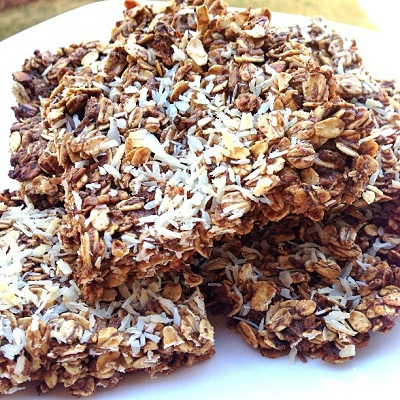 Coconut Protein Bars