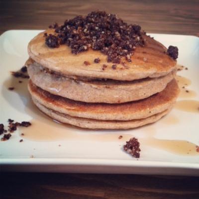 Coffee Cake Pancakes