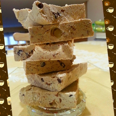Cookie Dough Frozen Fudge Squares