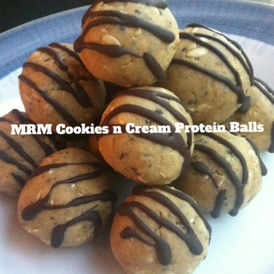Cookies & Cream Protein Balls