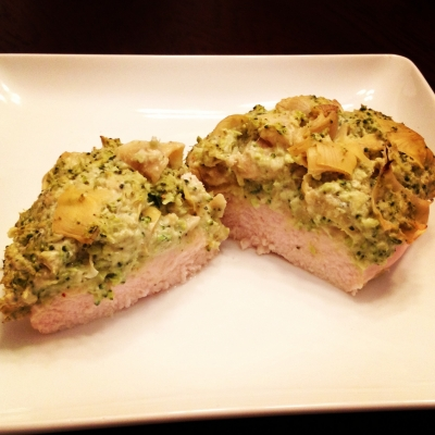 Creamy Artichoke Broccoli Chicken