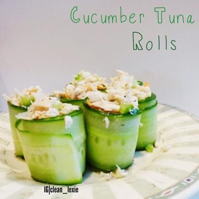 Cucumber Tuna Rolls