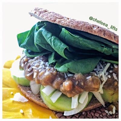 Curried Lentil Sandwich