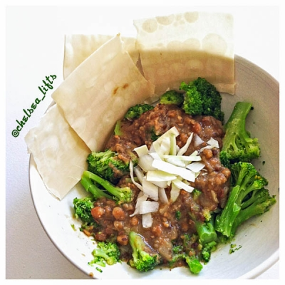 Curried Lentils With Vegetables