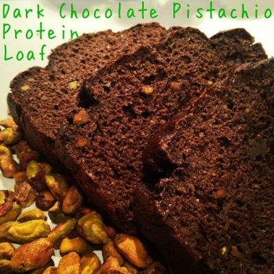 Dark Chocolate Pistachio Protein Loaf
