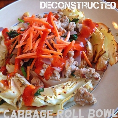 Deconstructed Cabbage Roll Bowl